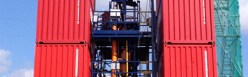 CSU160 Remote conbtrolled rig assist Snubbing unit