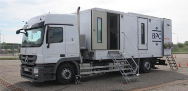 Wireline Slickline truck
