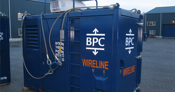 Wireline unit BPC Skid mounted